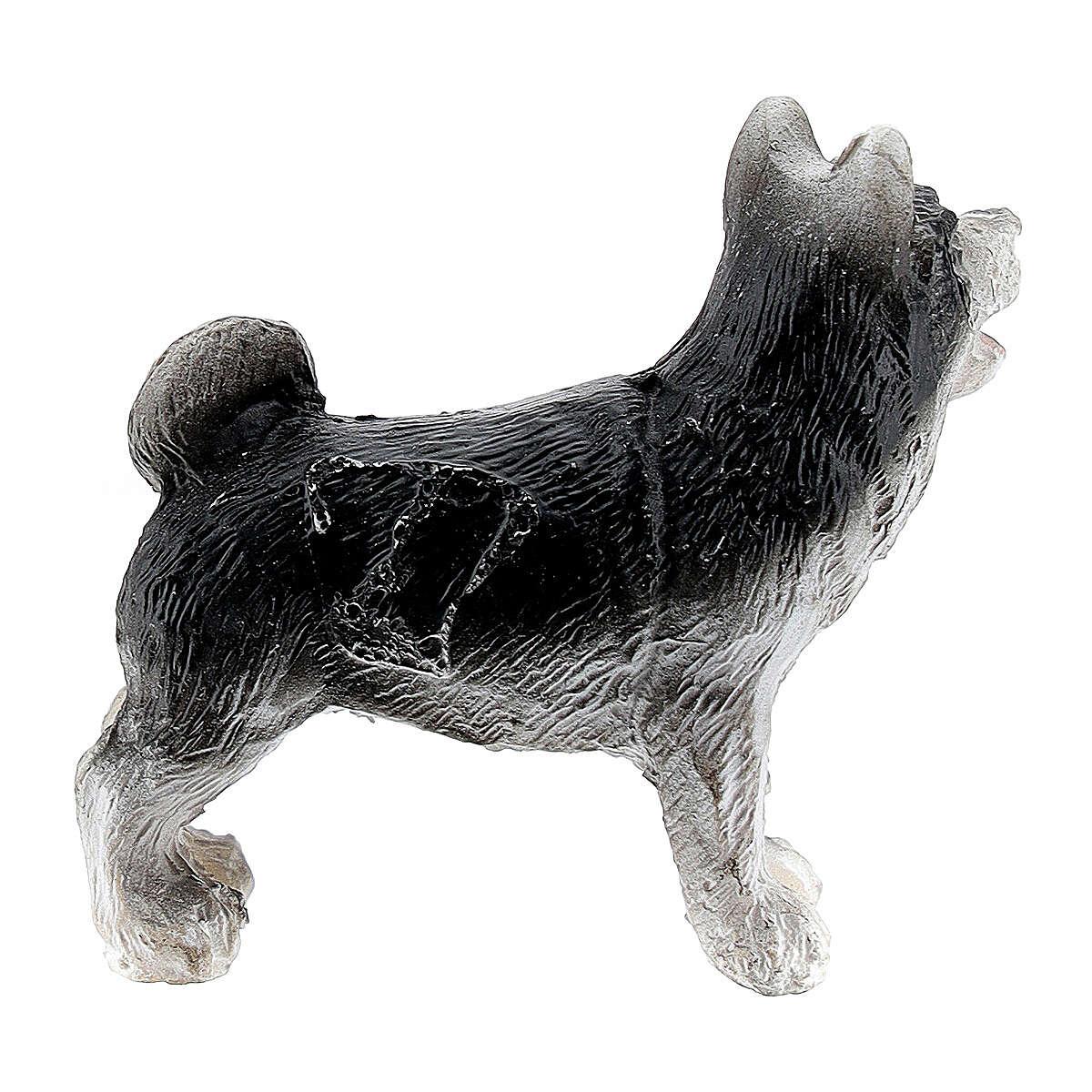 Cane resina 3 cm presepe miniatura 4-6 cm 3