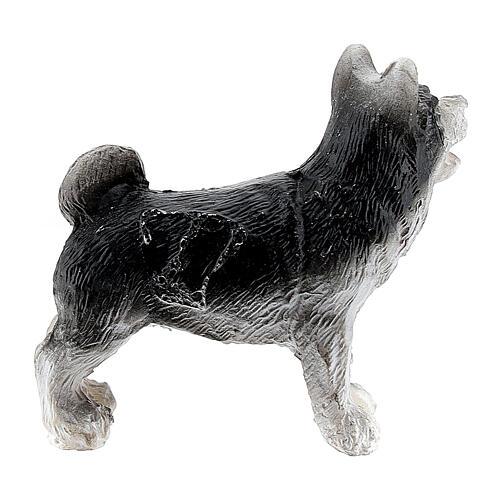 Cane resina 3 cm presepe miniatura 4-6 cm 2