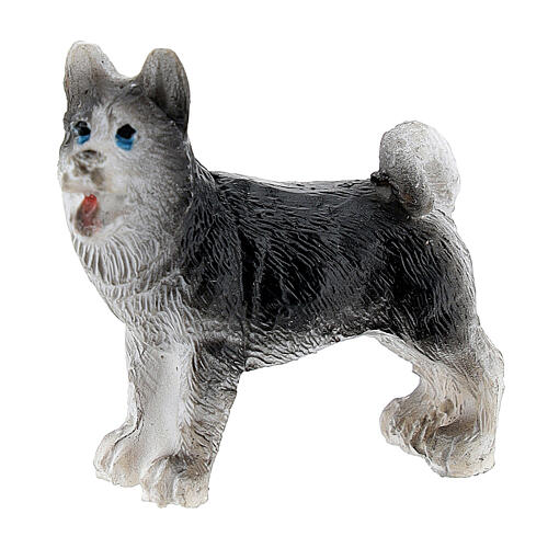 Resin dog 3 cm for Nativity Scene with 4-6 cm figurines 1