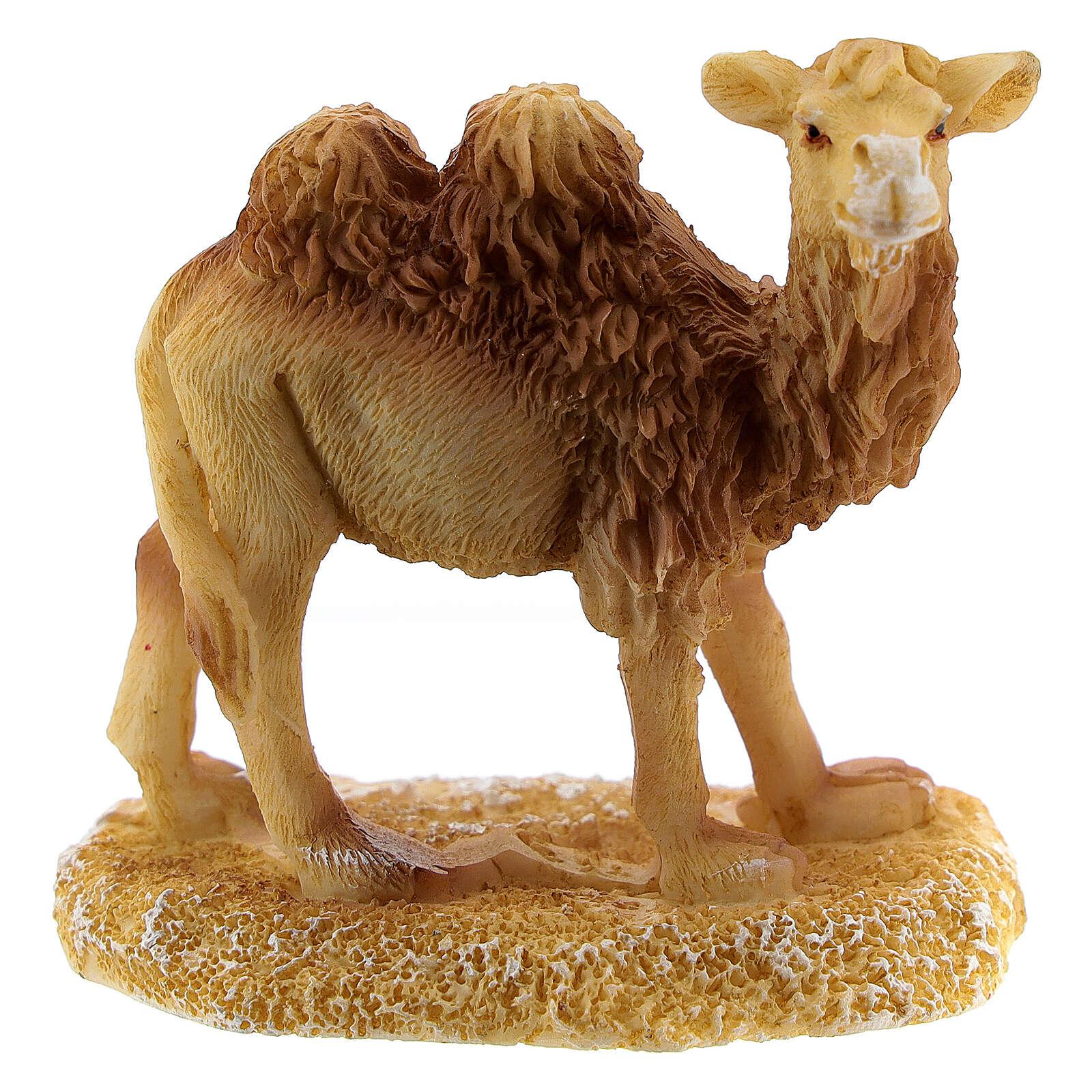 Camel for Nativity scene 6 cm resin 3