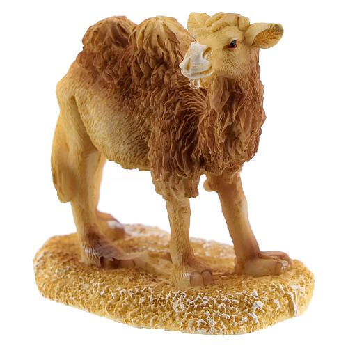 Camel for Nativity scene 6 cm resin 2