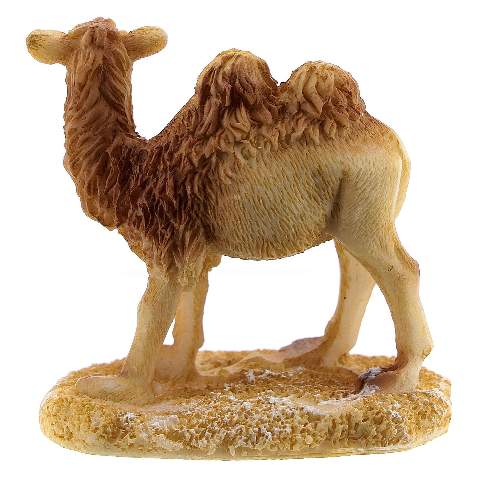 Miniature camel for 6 cm nativity resin 3