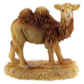Miniature camel for 6 cm nativity resin s1