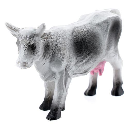 Resin cow for miniature Nativity scene 6-8 cm 2