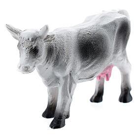 Cow figurine miniature resin nativity 6-8 cm s2