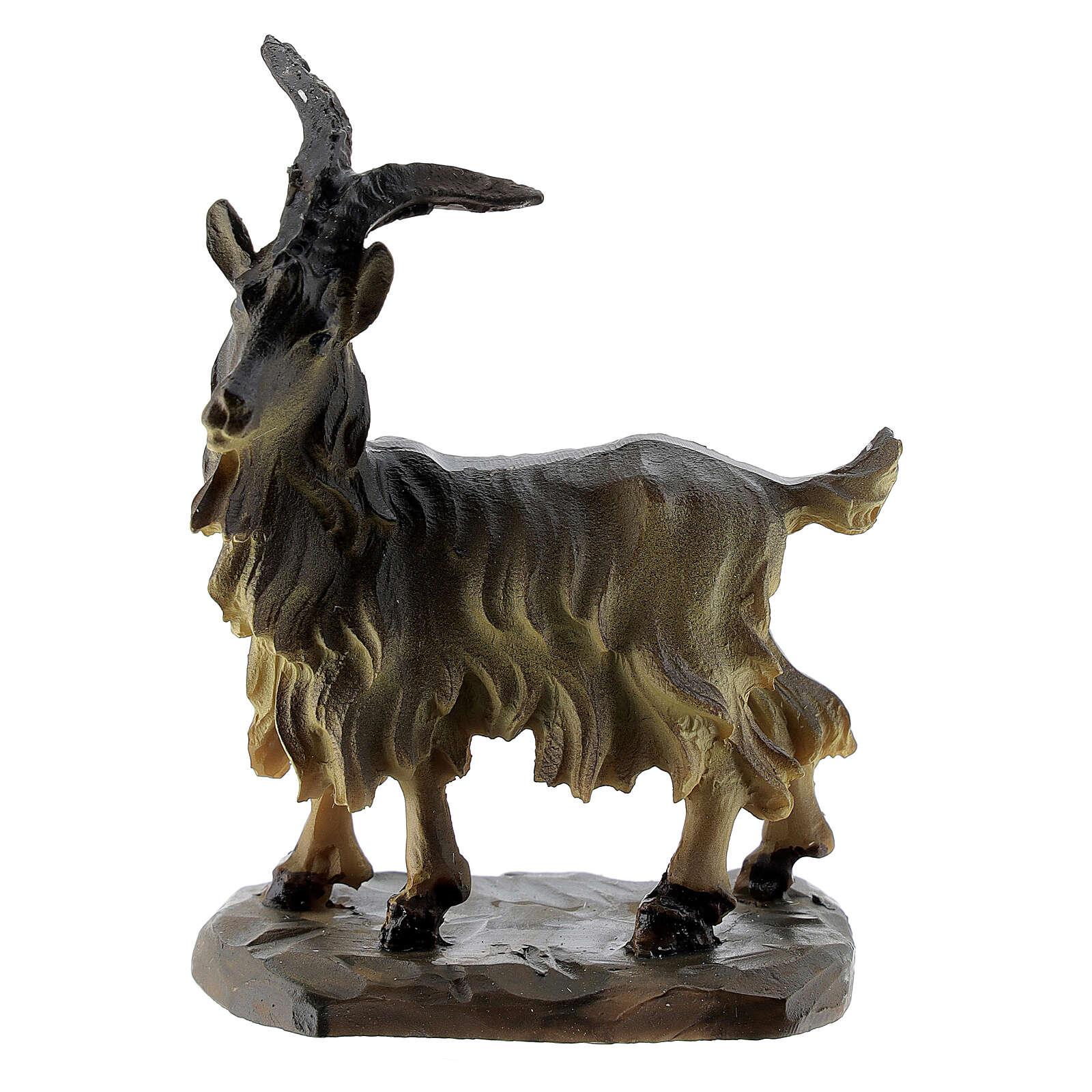 Miniature goat DIY nativity 10-12 cm 3
