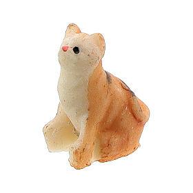 Katze aus Harz für Krippe verschiedene Modelle, 8-10 cm s2