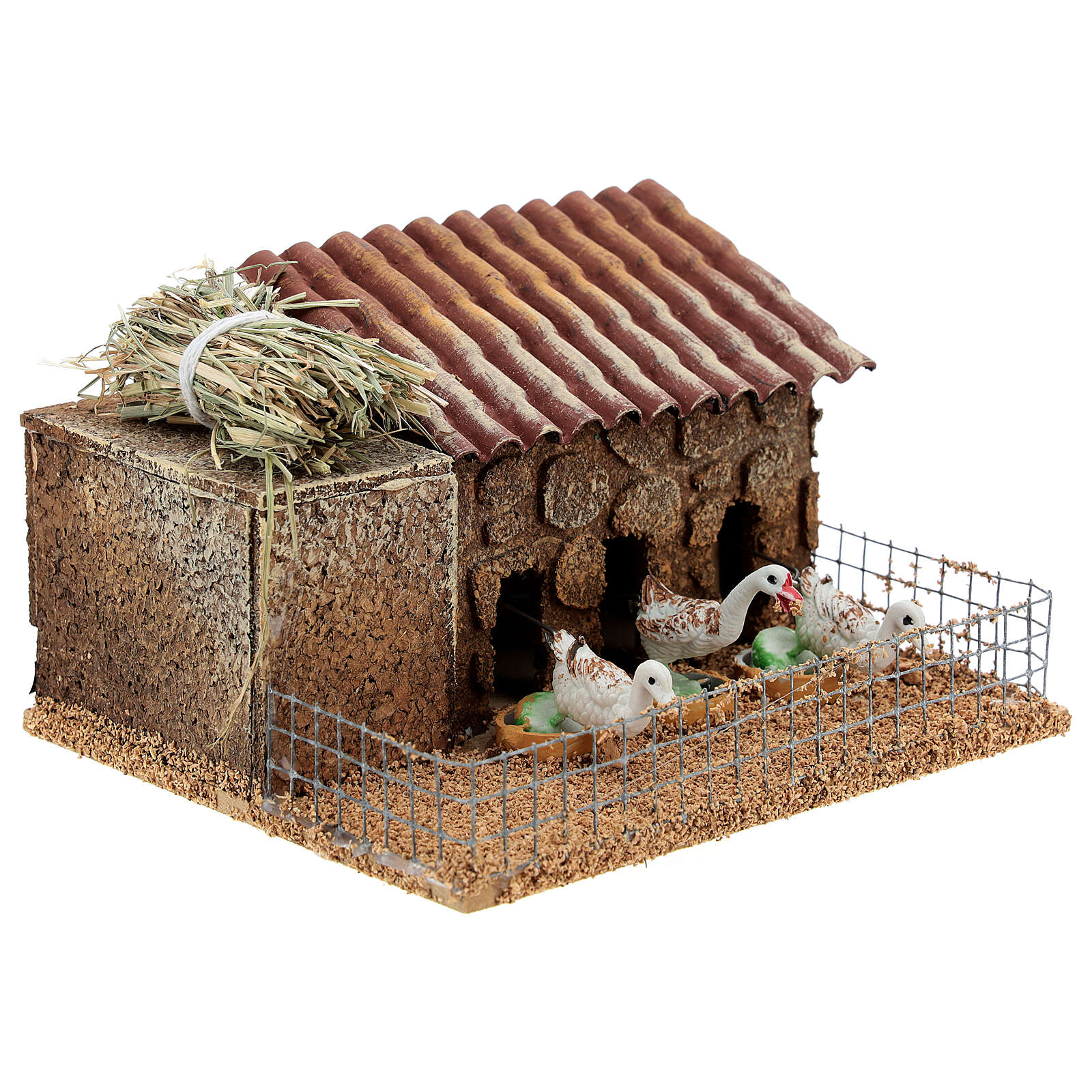 Patos era belén 10-12 cm 10x15x10 cm movimiento 3