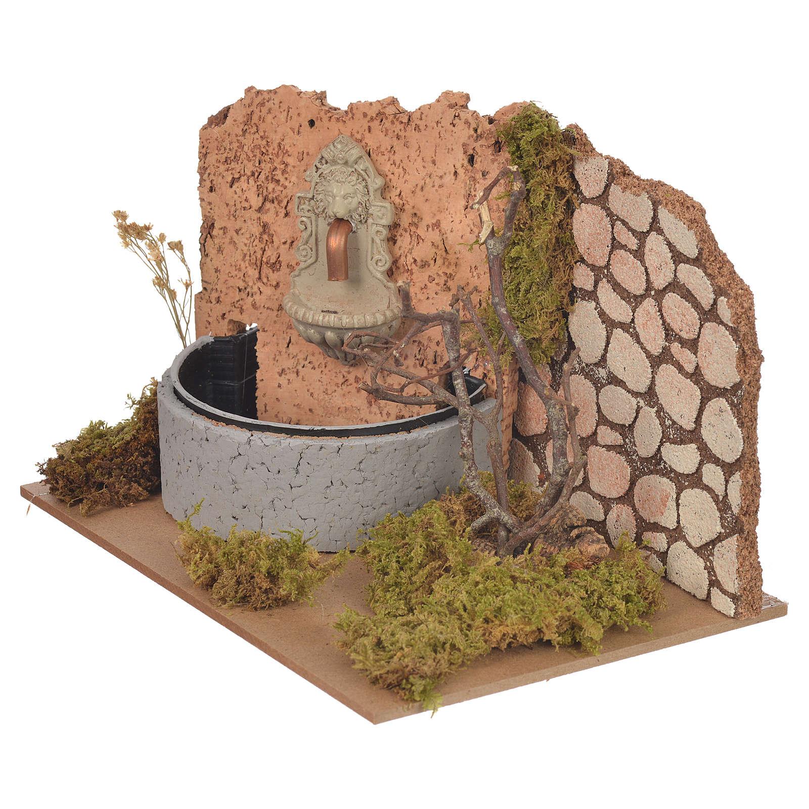 Fontaine pompe électrique 14x20x12 cm 4