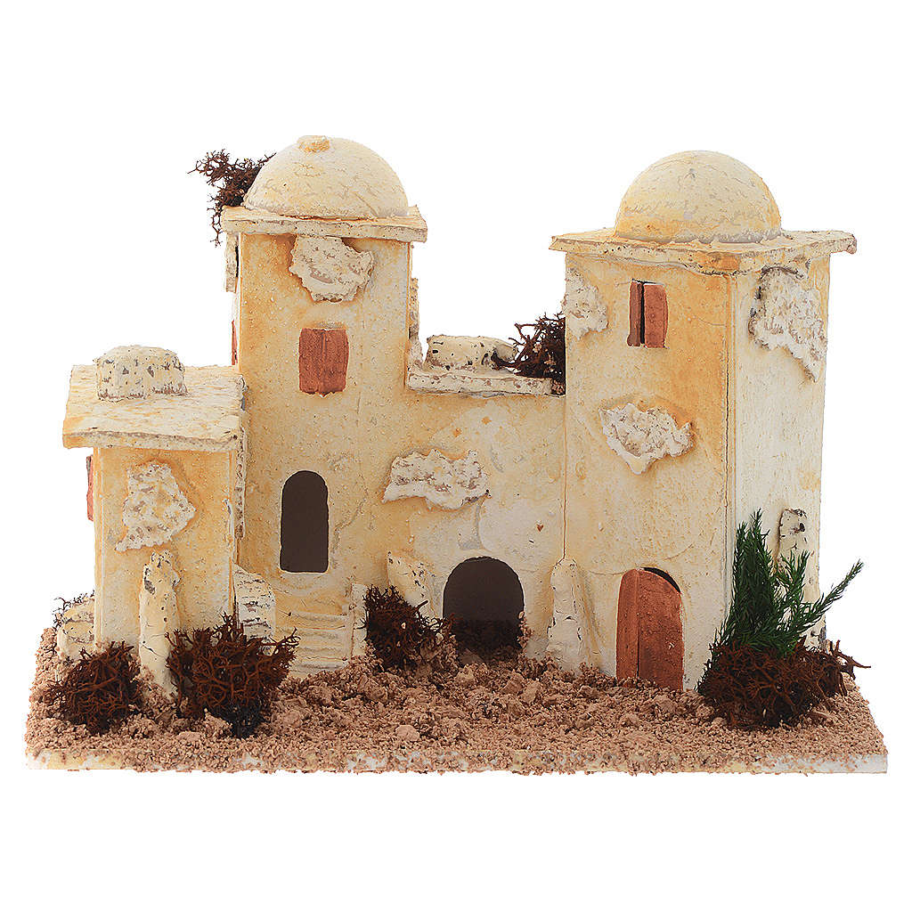 Accessory for nativities, minaret measuring 15x20x12cm 4