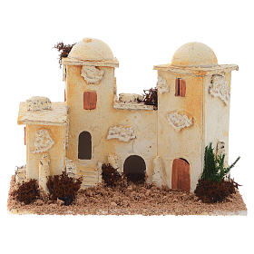 Accessory for nativities, minaret measuring 15x20x12cm s1