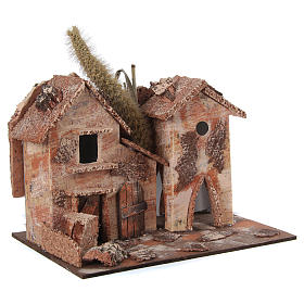 Farmhouse for nativities 20x16x15cm, assorted models s3