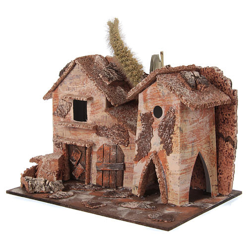Farmhouse for nativities 20x16x15cm, assorted models 2