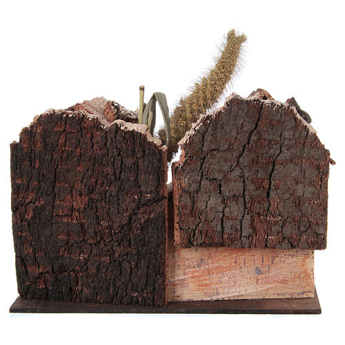 Farmhouse for nativities 20x16x15cm, assorted models 4