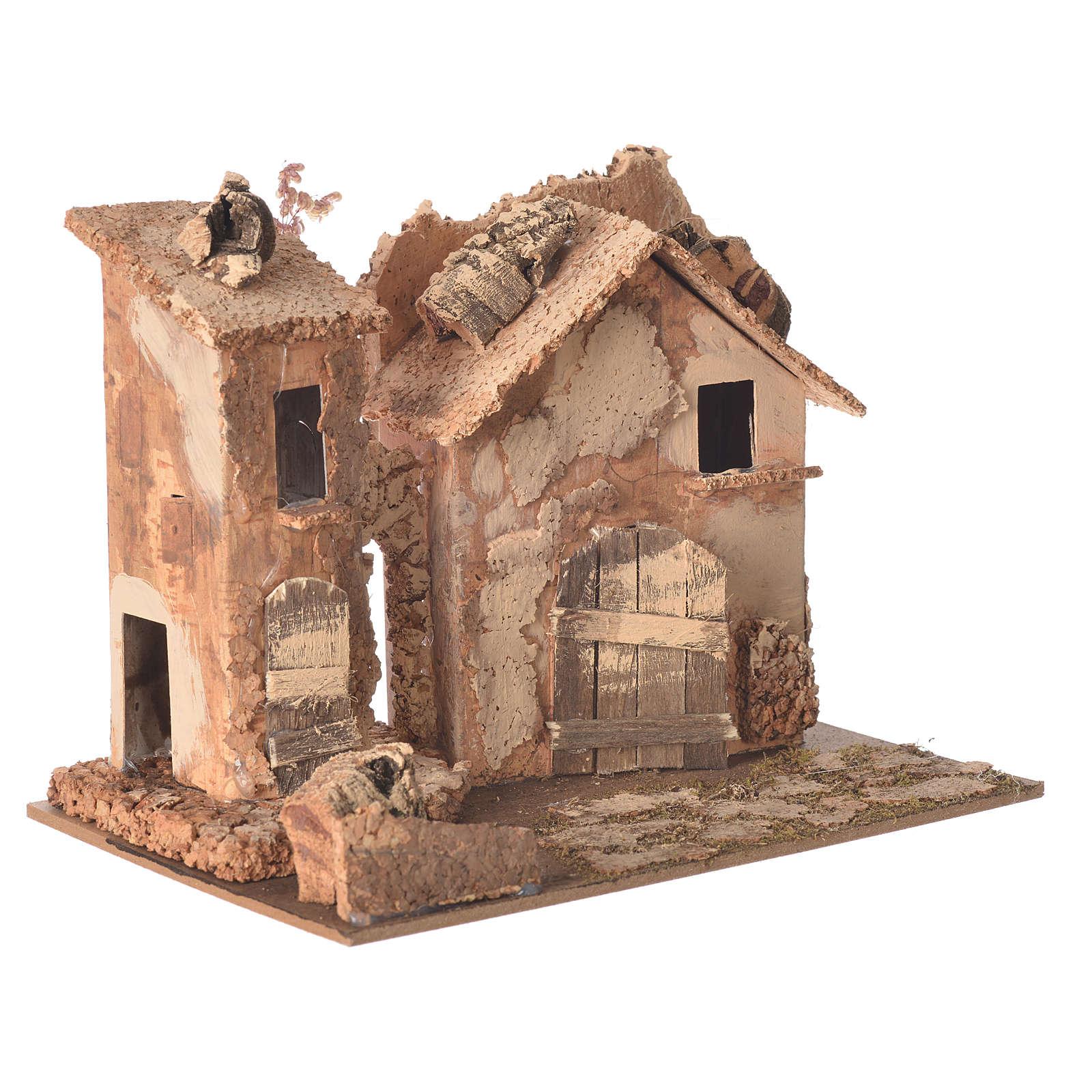Casolare presepe 20x16x15 cm modelli assortiti 4
