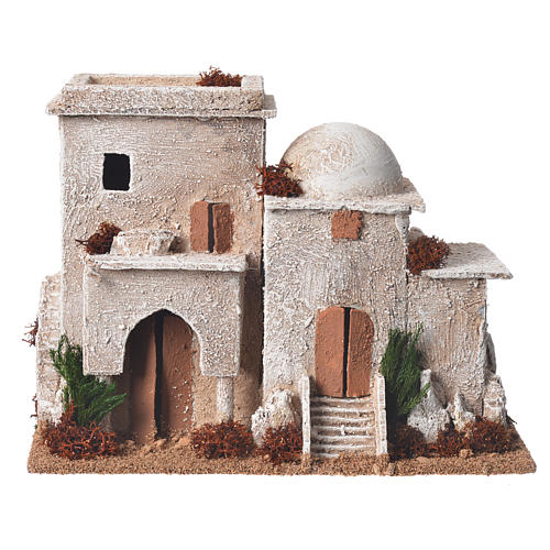 Double minaret for nativities with setting measuring 13x20x10cm 1