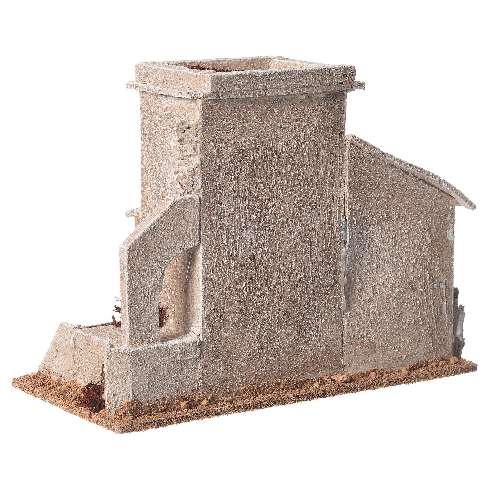 Minareto doppio presepe 13x20x10 cm 4