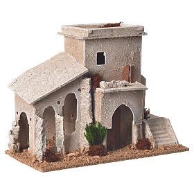 Minareto doppio presepe 13x20x10 cm s2