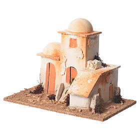 Arabian minaret for nativities measuring 15x20x12cm s2