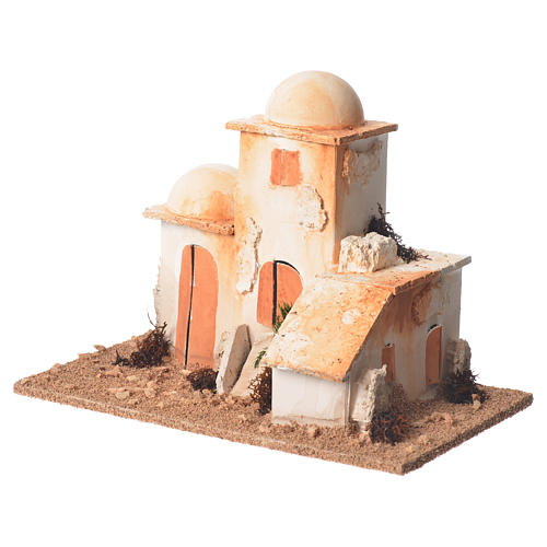 Arabian minaret for nativities measuring 15x20x12cm 2