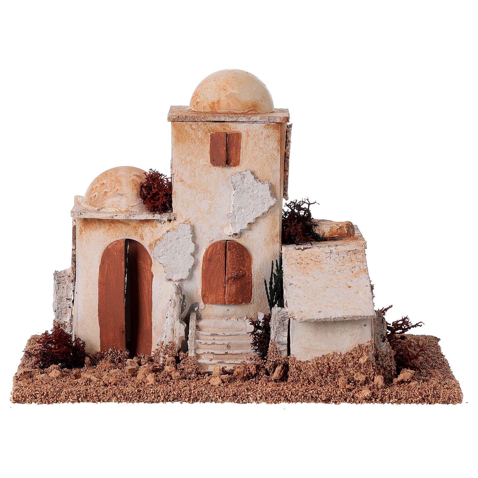 Minaret arabe crèche 15x20x12 cm 4