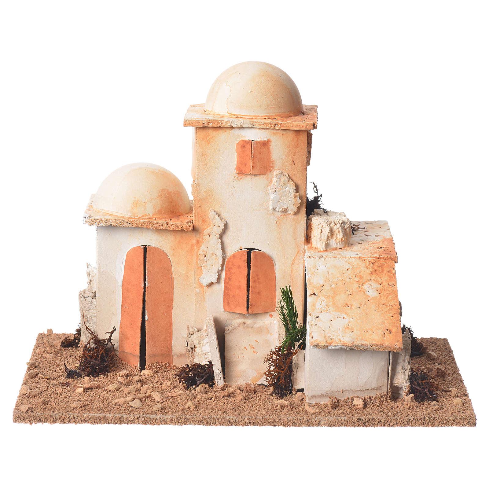 Arabian minaret for nativities measuring 15x20x12cm 4