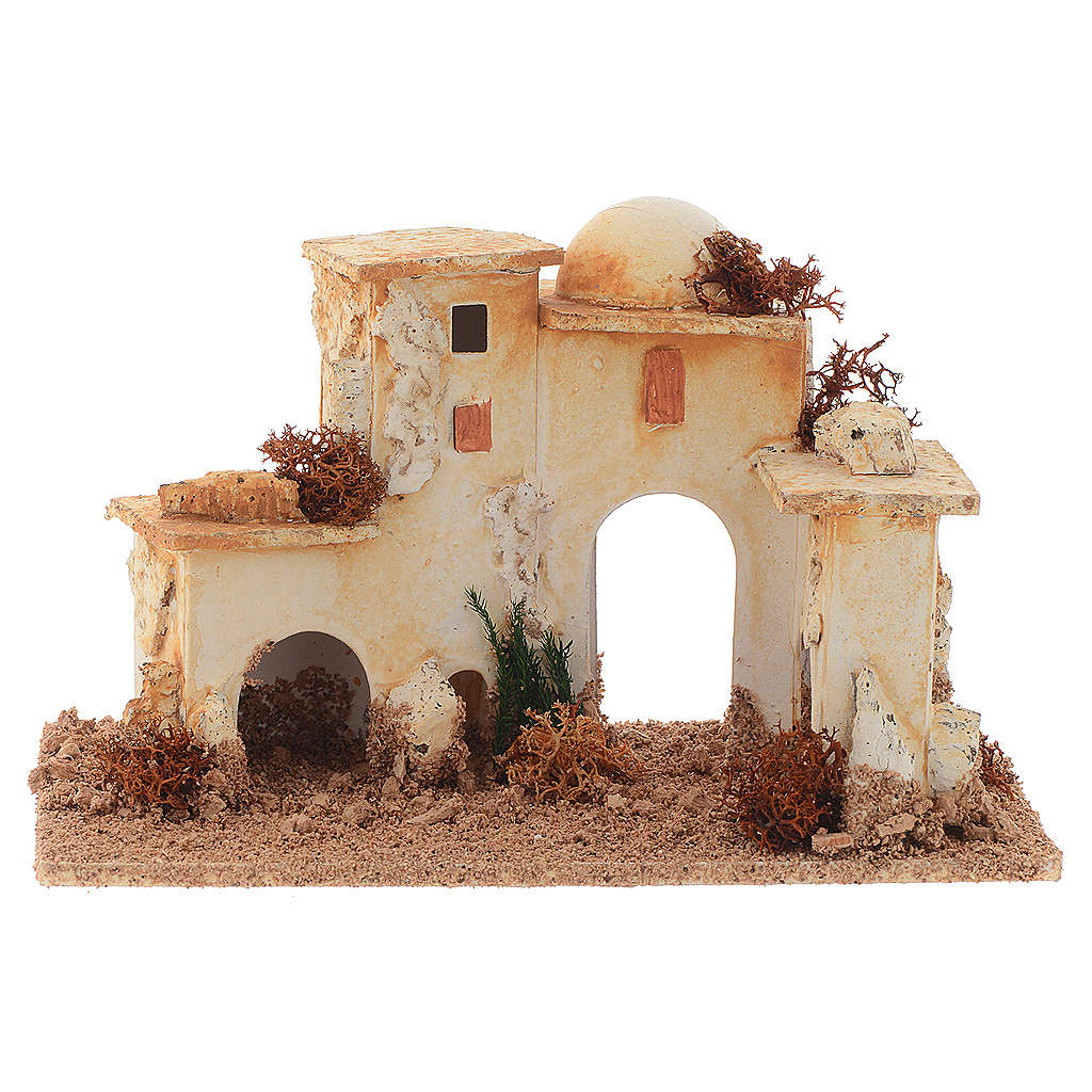Nativity accessories, minaret measuring 15x20x12cm 4