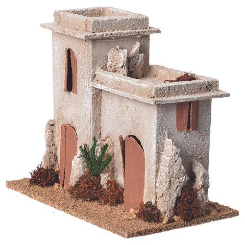Minareto arabo per presepe 17x15x12 cm 3