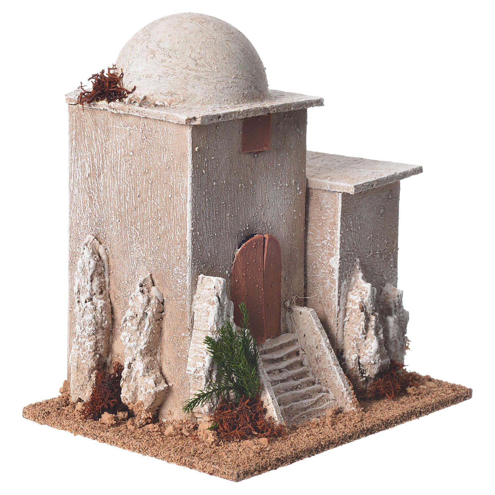 Minareto per presepe dimensioni 17x15x12 cm 4