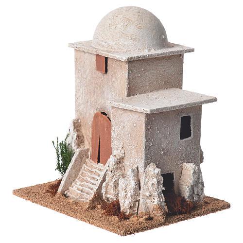 Minareto per presepe dimensioni 17x15x12 cm 3