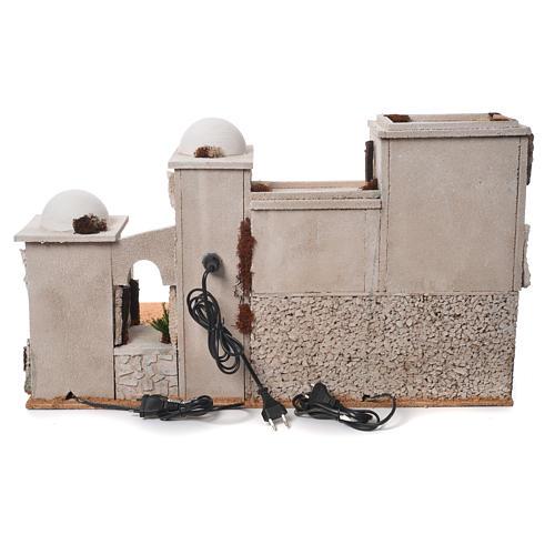 Bourgade arabe complète avec étable 42x70x50 cm 4