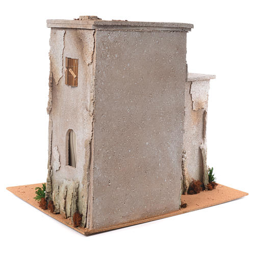 Nativity setting, minaret with stable 50x45x60cm 4