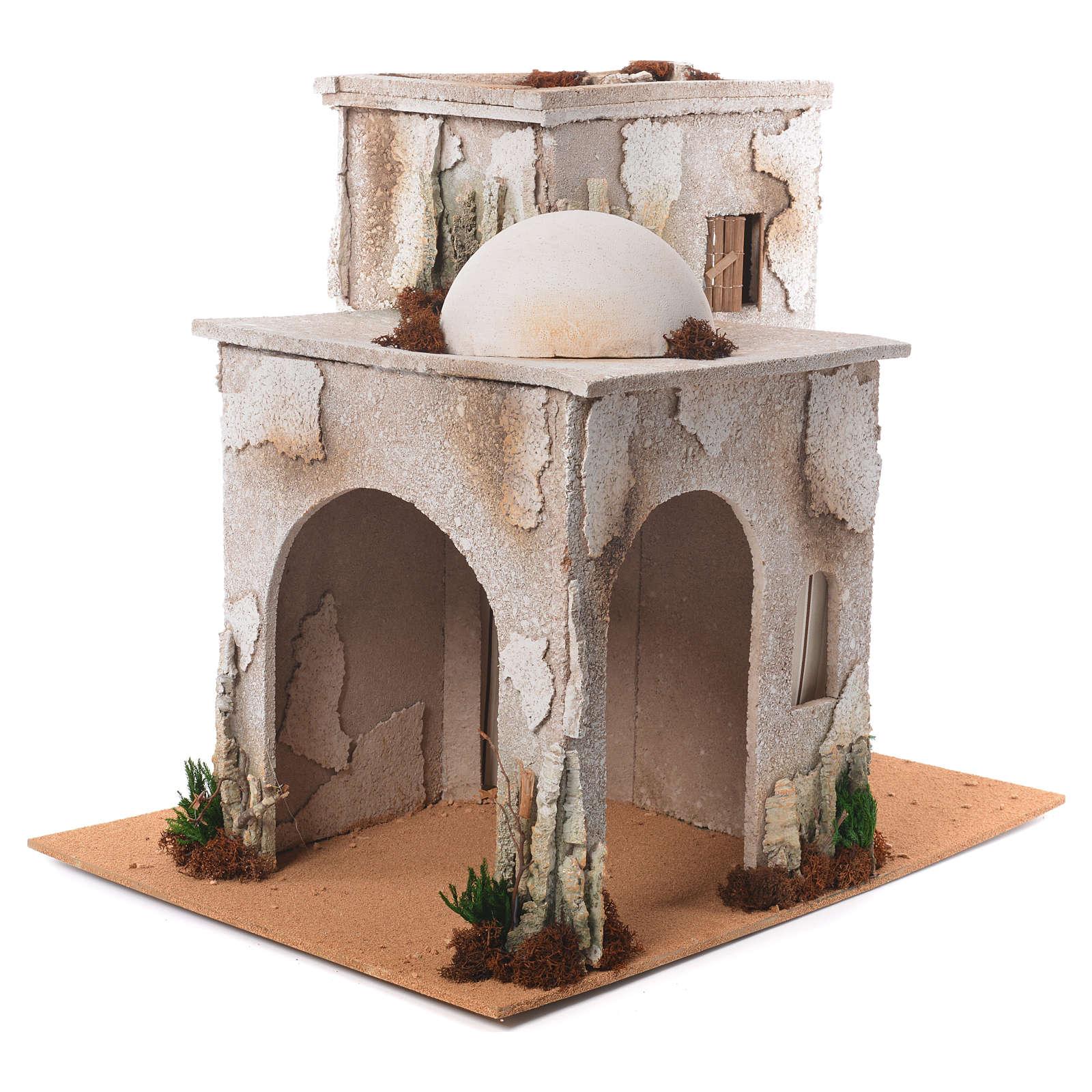 Minareto arabo con capanna 50x45x60 cm 4