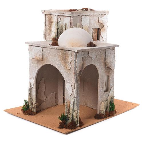 Minareto arabo con capanna 50x45x60 cm 2