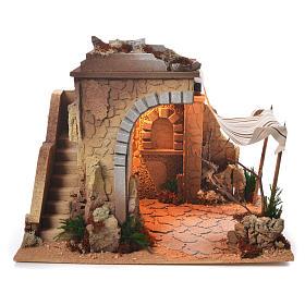 Cabane arabe crèche 35x50x35 cm s1