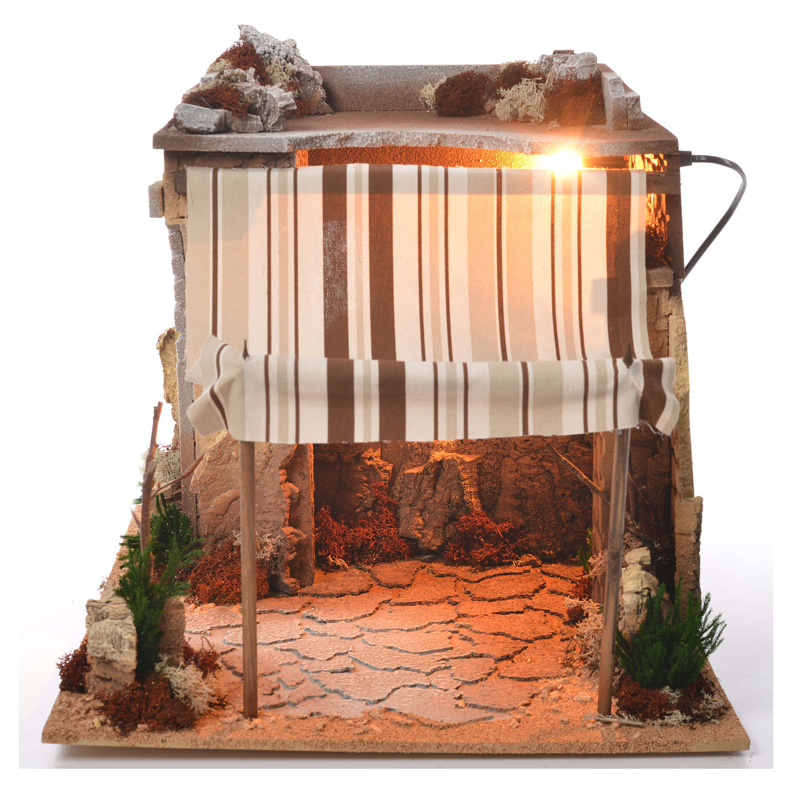 Arabian nativity stable 35x50x35cm 4