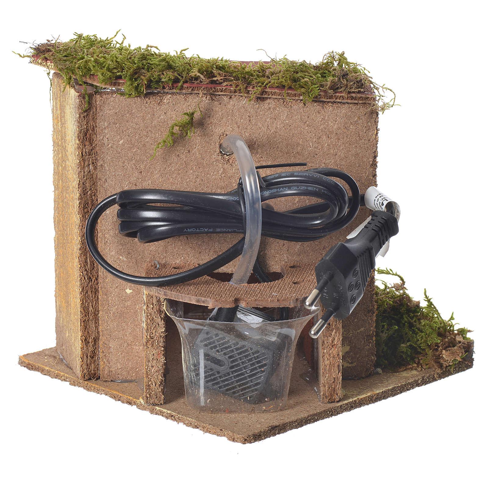 Fontana presepe 2,5watt con secchio 15x15x15 cm 4