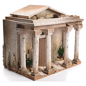 Tempio presepe 33x35x25 cm s2