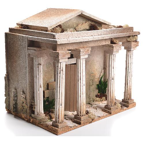 Tempio presepe 33x35x25 cm 2