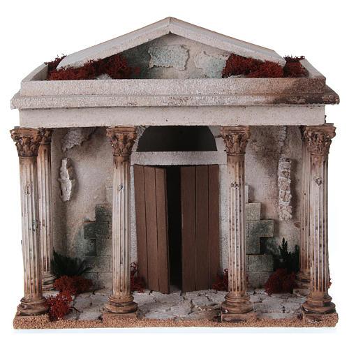 Tempio presepe 33x35x25 cm 1