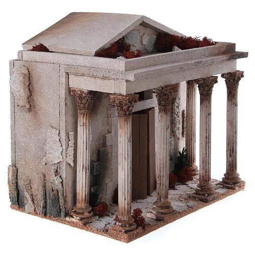 Tempio presepe 33x35x25 cm 3