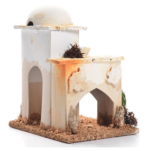 Nativity setting, minaret 12x9x8cm 2