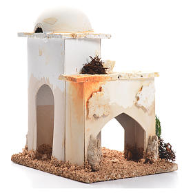 Nativity setting, minaret 12x9x8cm s2