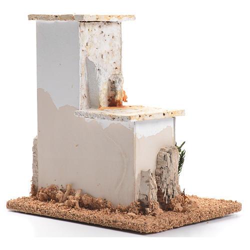 Minaret pour crèche 11x11x9cm 2