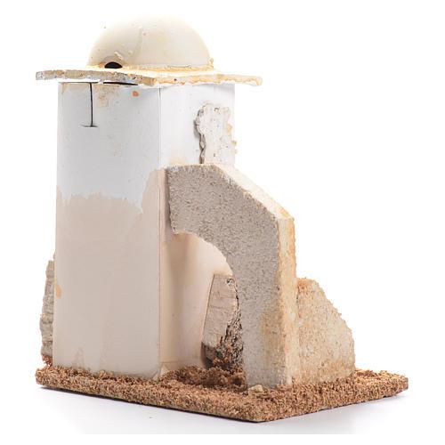 Minaret décor crèche 14x11x8cm 2