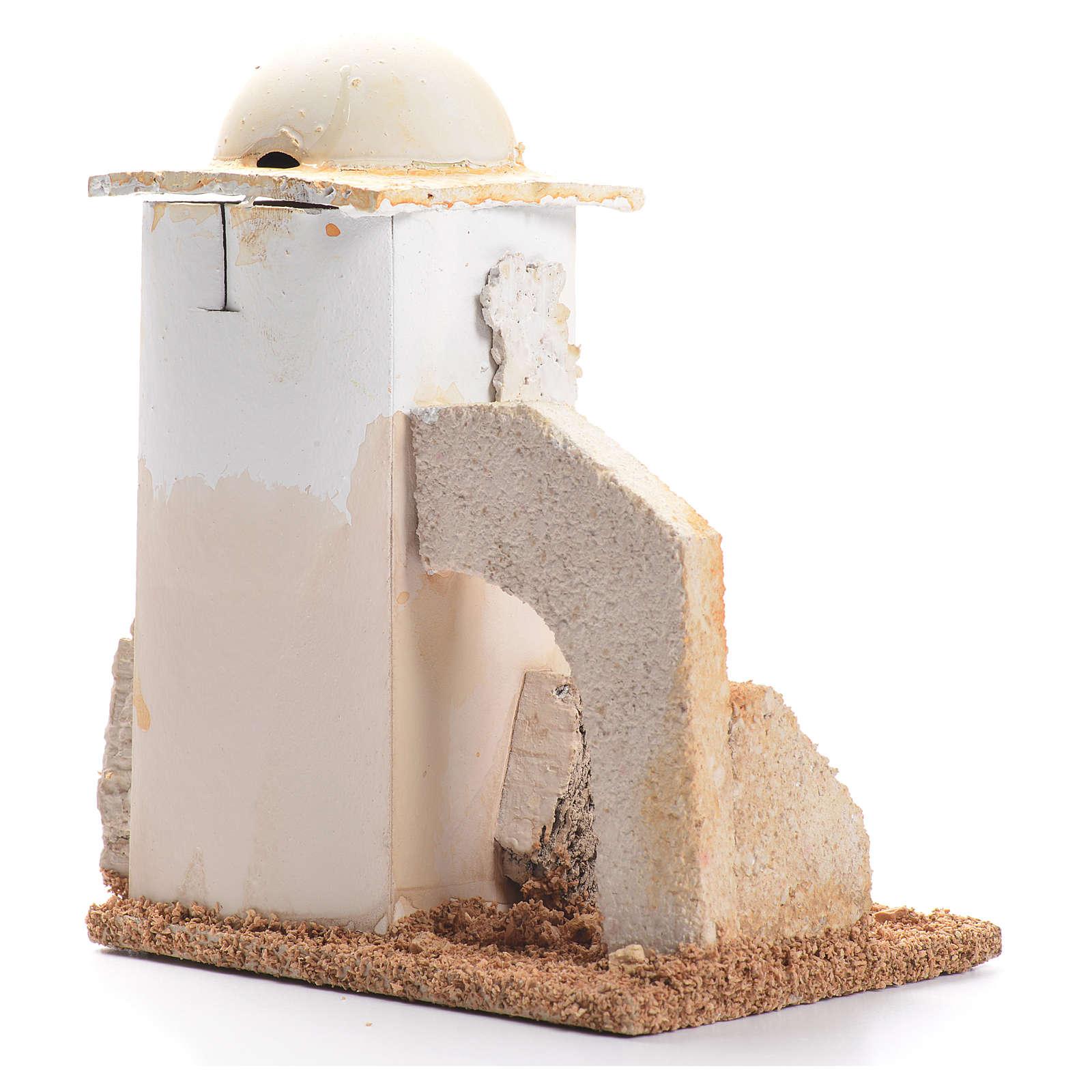 Minareto: ambientazione presepe 14x11x8 cm 4