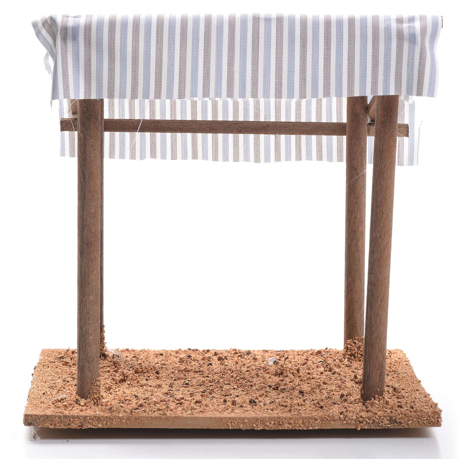 Tenda nel deserto presepe cm 16x15x15 4