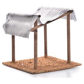 Tenda nel deserto presepe cm 16x15x15 s2