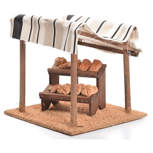 Tente arabe pain crèche 10 cm 3