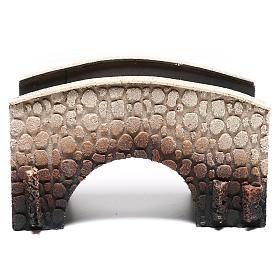Puente belén corcho arqueado 16x25x11 cm s1